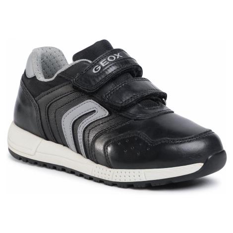 Sneakersy GEOX - A Alben B. E J049EE 0CL54 C0017 S Black/Grey