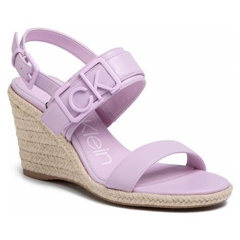 Espadryle CALVIN KLEIN - Belora B4E7994 Stone Pink