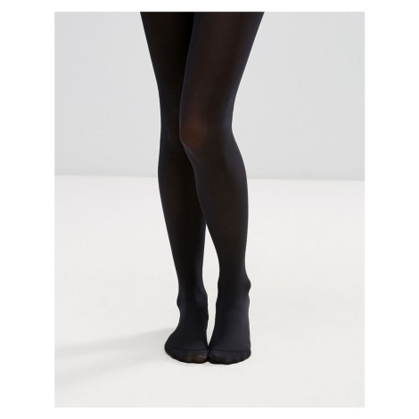 ASOS DESIGN 80 denier black tights in recycled nylon