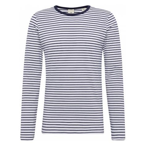 SCOTCH & SODA Koszulka 'Classic long sleeve jersey tee' granatowy / biały