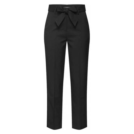 EDITED Spodnie w kant 'Bobby' czarny