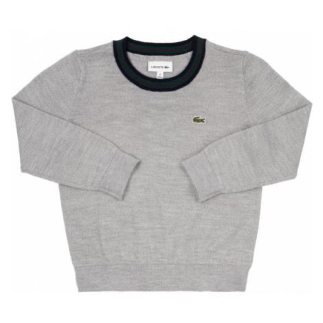 Lacoste Sweter AJ8087 Szary Regular Fit