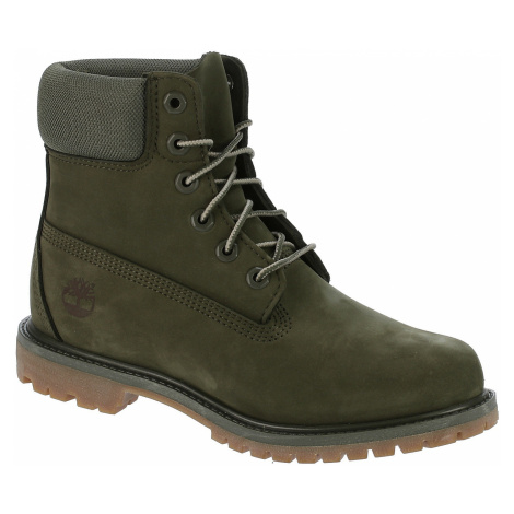 buty Timberland Icon 6 Premium Leather And Fabric Waterproof - A1P7R/Dark Green Nubuck/Mesh Coll
