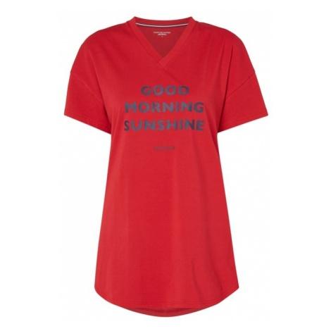 Koszula nocna z nadrukowanym napisem Tommy Hilfiger