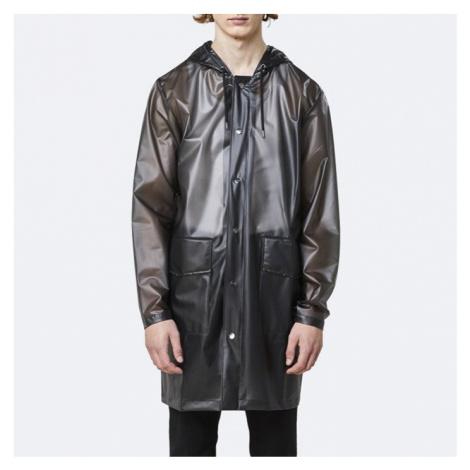 Płaszcz Rains Transparent Hooded Coat 1269 FOGGY BLACK