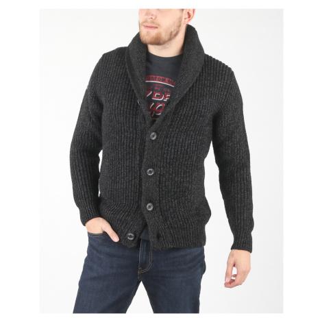 SuperDry Sweter Czarny