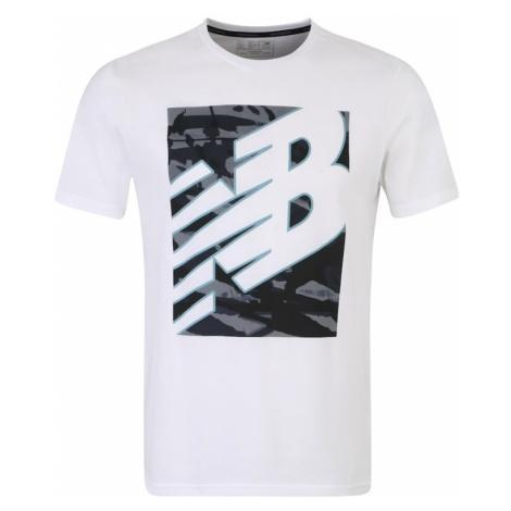 New Balance Koszulka funkcyjna 'MT91082' czarny / biały