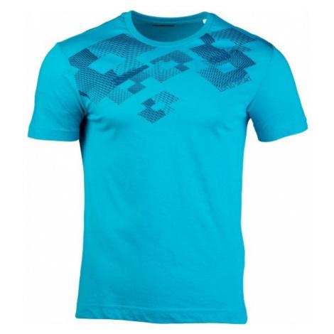 Lotto L73 V TEE LOSANGA JS niebieski S - Koszulka męska
