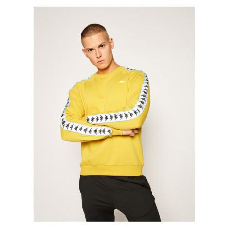 Kappa Bluza Harris 308016 Żółty Regular Fit
