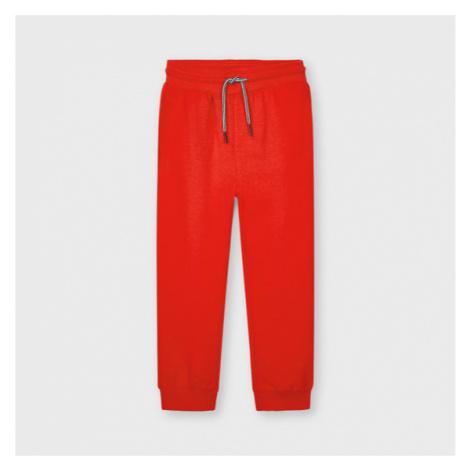Mayoral Spodnie dresowe 742 Czerwony Regular Fit