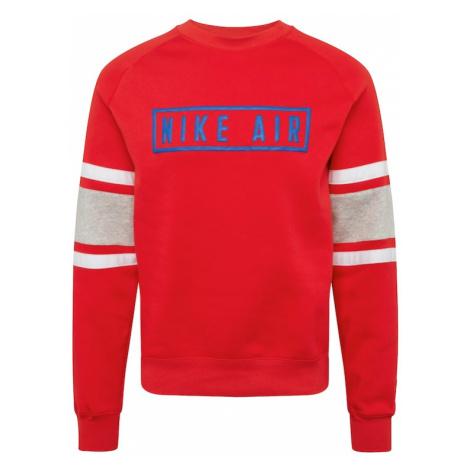 Nike Sportswear Bluzka sportowa czerwony / biały