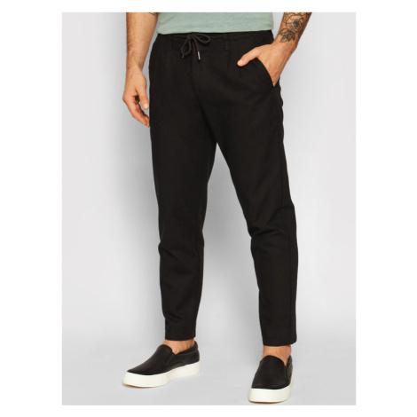 ONLY & SONS Spodnie materiałowe Leo 22013002 Czarny Regular Fit