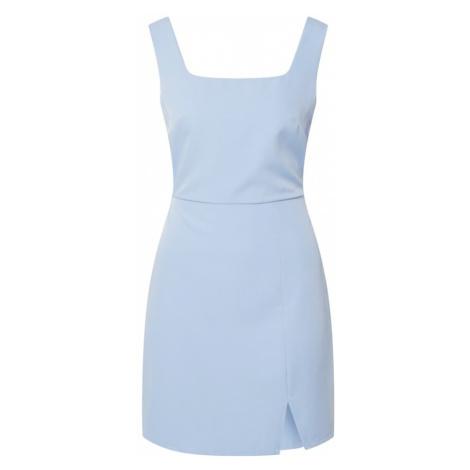 Fashion Union Sukienka 'DISCO' jasnoniebieski