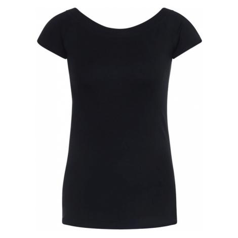 Lauren Ralph Lauren T-Shirt Off Shoulder 200652226 Czarny Slim Fit
