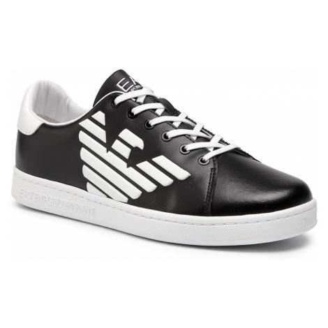 Sneakersy EA7 EMPORIO ARMANI - XSX006 XCC53 A120 Black/White