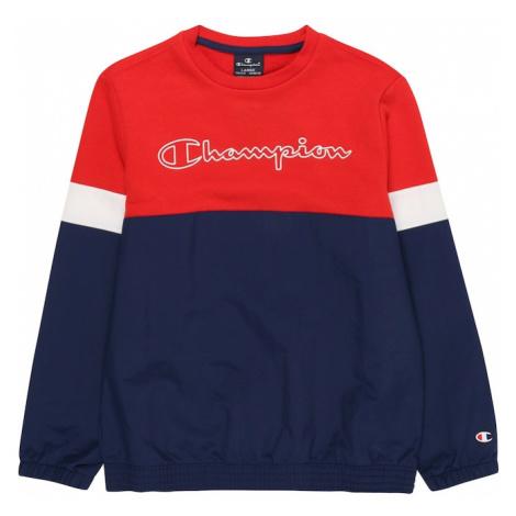 Champion Authentic Athletic Apparel Bluza granatowy / czerwony