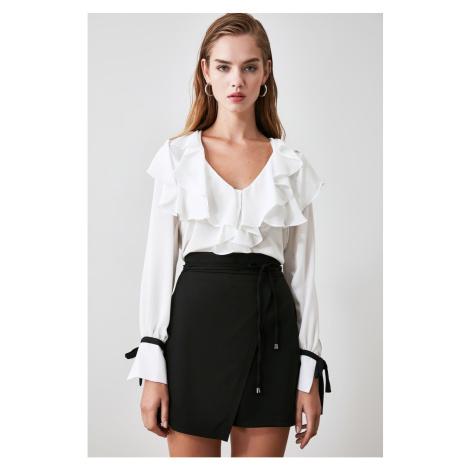 Trendyol Black Binding Detailed Skirt