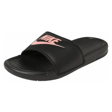 Nike Sportswear Klapki 'Benassi Just Do It' czarny / różany