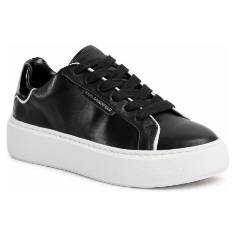 Sneakersy KARL LAGERFELD - KL62220 Black Lthr