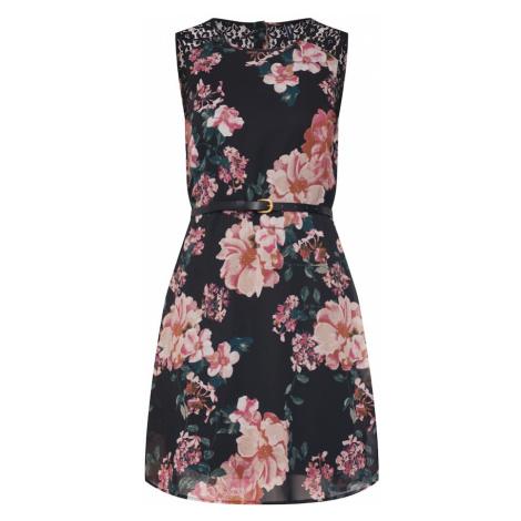 VERO MODA Letnia sukienka mieszane kolory / czarny