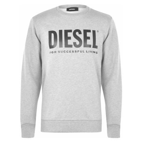 Bluza z logo Diesel Text