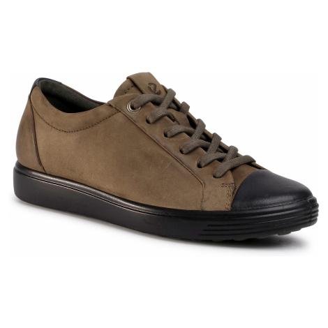 Sneakersy ECCO - Soft 7 W 44044359637 Black/Grape Leaf