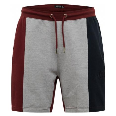 BURTON MENSWEAR LONDON Spodnie 'BURGUNDY' burgund