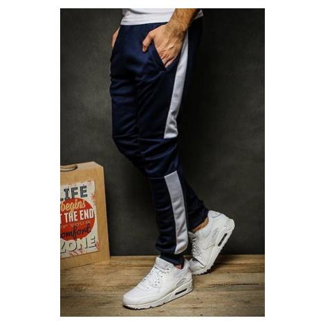 Men's navy blue sweatpants UX2267 DStreet
