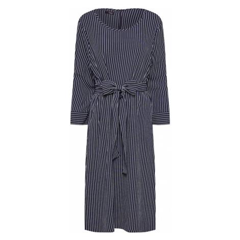 CINQUE Sukienka koszulowa 'CIDOC' ciemny niebieski / biały