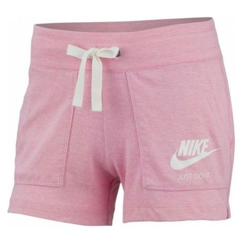 Nike NSW GYM VNTG SHORT jasnoróżowy M - Spodenki damskie