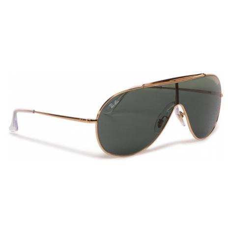 Ray-Ban Okulary przeciwsłoneczne Wings 0RB3597 905071 Czarny