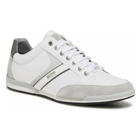 Boss Sneakersy Saturn 50407672 10216105 01 Biały Hugo Boss