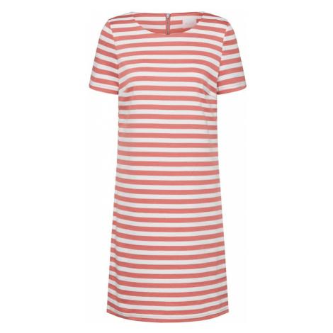 VILA Sukienka 'VITinny New' czerwony / biały