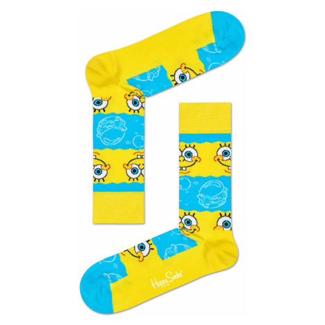 Happy Socks - Skarpetki x Sponge Bob Say Cheese Burger