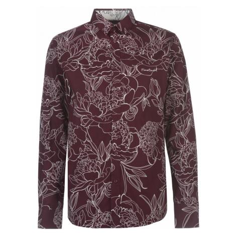 Pierre Cardin Large Floral Print Long Sleeve Shirt Mens