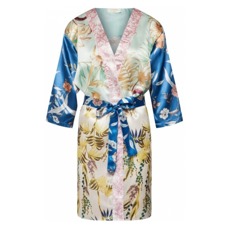 Cream Kimono 'Mixie' niebieski / mieszane kolory / różany