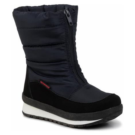 Śniegowce CMP - Kids Rae Snow Boots Wp 39Q4964 Black Blue N950