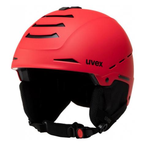 Uvex Kask narciarski Legend S5662464005 Czerwony