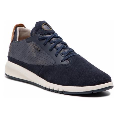 Geox Sneakersy U Aerantis A U927FA 02243 C4002 Granatowy