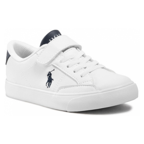 Polo Ralph Lauren Sneakersy Theron IV Ps RF102986 Biały