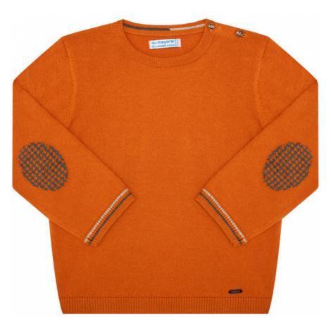 Mayoral Sweter 351 Pomarańczowy Regular Fit