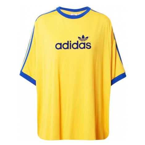 ADIDAS ORIGINALS Koszulka żółty / niebieski