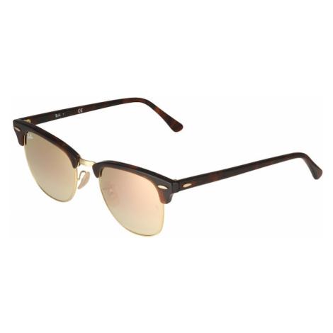 Ray-Ban Okulary przeciwsłoneczne 'Clubmaster' brązowy / różowy pudrowy