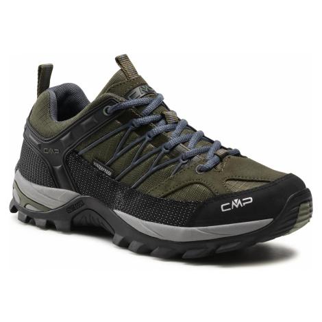 Trekkingi CMP - Rigel Low Trekking Shoe Wp 3Q54457 Torba/Salvia 01FG