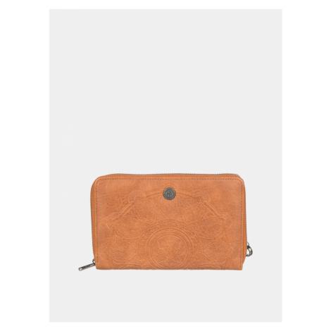 Roxy brązowy portfel