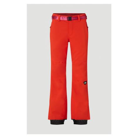 O'NEILL Spodnie outdoor 'Star Slim' ognisto-czerwony