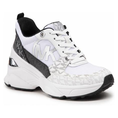 Sneakersy MICHAEL MICHAEL KORS - Mickey Trainer 43S1MKFS3D Blk/Wht