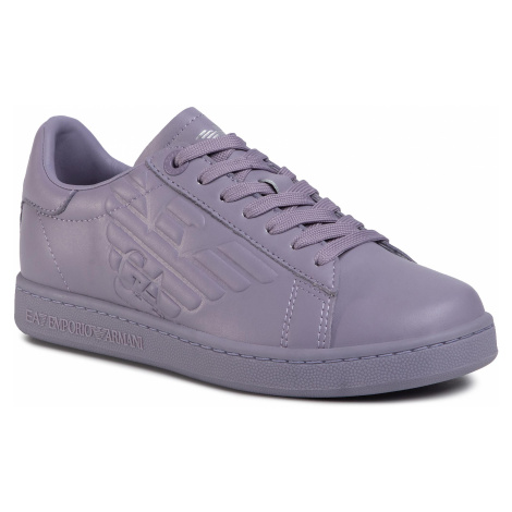 Sneakersy EA7 EMPORIO ARMANI - X8X001 XCC51 N143 Triple Purple Ash