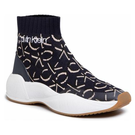 Sneakersy CALVIN KLEIN - Babele B4E7979 Deep Navy