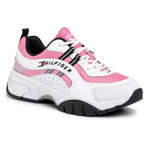 Sneakersy TOMMY JEANS - Heritage Tommy Jeans Wmns Runner EN0EN00792 Bubble Pink TPT Tommy Hilfiger